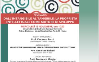 Programma tutela del marchio seminario Italia in testa roma